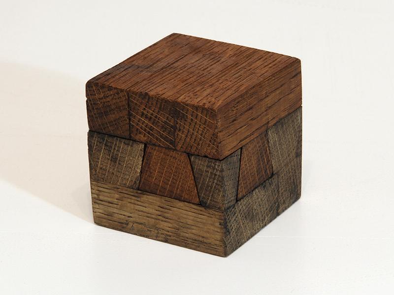 Занимательные головоломки №43 Скользящий куб