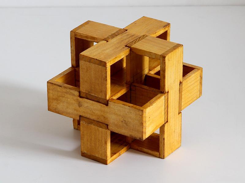 Занимательные головоломки №59 Двойной узел