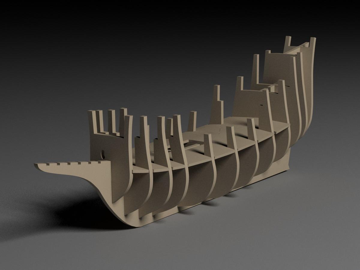 Макет корабля из фанеры своими руками 13